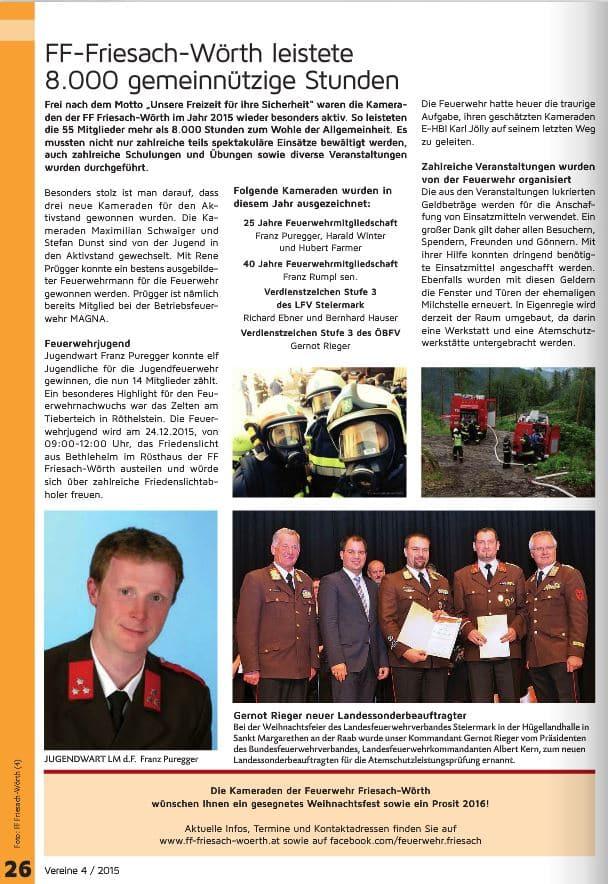 FFFW 2015.12. Einschaltung Gratkorner Zeitung